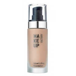 Make Up Factory Velvet Lifting Foundation Jedwabisty podkład liftingujący 25 Light Caramel 30ml