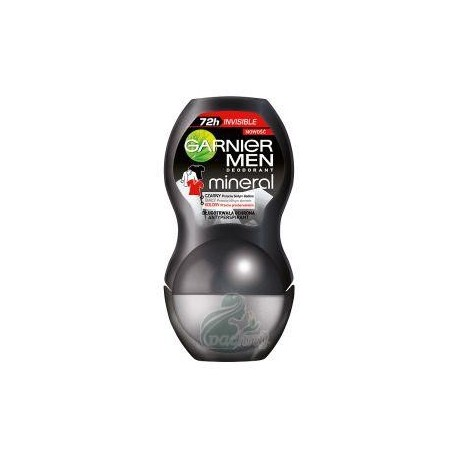 Garnier Mineral Men Black White Color Dezodorant 50ml w kulce