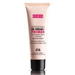 Pupa Professionals BB Cream & Primer SPF20 Baza pod makijaż do cery mieszanej i tłustej 002 Sand 50ml