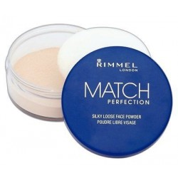 Rimmel Match Perfection Silky Loose Face Powder Puder sypki 001 Transparent 10g