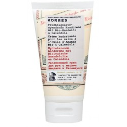 Korres Moisturizing Hand Cream With Organic Almond Oil & Calendula Krem do rąk z olejkiem migdałowym i nagietkiem 75ml