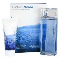 Kenzo L`eau Par Pour Homme Woda toaletowa 100ml spray + Żel pod prysznic 75ml