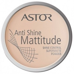 Astor Anti Shine Mattitude Powder Puder matujący 002 14g
