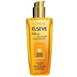 L`Oreal Elseve Elixir Odżywczy eliksir dla wszystkich rodzajów włosów 100ml