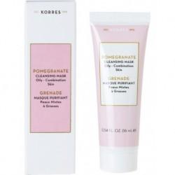 Korres Pomegranate Cleansing Mask Oily/Combination Skin Oczyszczająca maska z wyciągiem z granatu 16ml