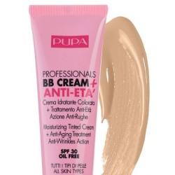 Pupa Professionals BB Cream & Anti-Eta SPF30 Kuracja przeciwstarzeniowa 001 Nude 50ml