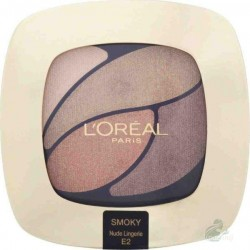L`Oreal Color Riche Quad Eyeshadows Cienie do powiek E2 Nude Lingerie