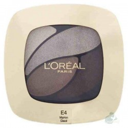 L`Oreal Color Riche Quad Eyeshadows Cienie do powiek E4 Marron Glace