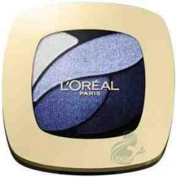 L`Oreal Color Riche Quad Eyeshadows Cienie do powiek E8 Eternal Blue