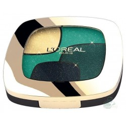 L`Oreal Color Riche Quad Eyeshadows Cienie do powiek P3 Emerald Conquest