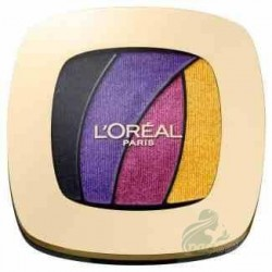 L`Oreal Color Riche Quad Eyeshadows Cienie do powiek S3 Disco Smoking