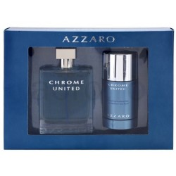 Azzaro Chrome United Woda toaletowa 100ml spray + Dezodorant 75ml sztyft