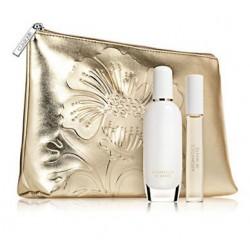 Clinique Aromatics In White Woda perfumowana 50ml spray + 10ml roll-on + Kosmetyczka