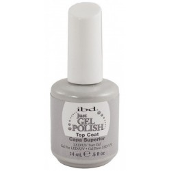 IBD Just Gel Polish Top Coat Nabłyszczający top do lakieru hybrydowego 14ml