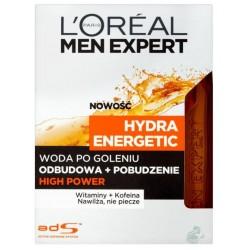 L`Oreal Men Expert Hydra Energetic High Power Woda po goleniu 100ml bez sprayu