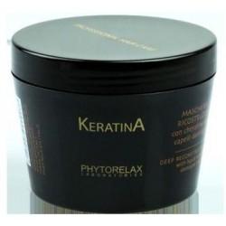 Phytorelax Keratina Deep Reconstructor Mask Maska do rekonstrukcji włosów zniszczonych 200ml