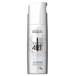 L`Oreal Tecni Art Fix Design Directional Fixing Spray Precyzyjny spray do miejscowego utrwalenia Force 5 750ml