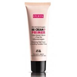 Pupa Professionals BB Cream & Primer SPF20 Baza pod makijaż do cery mieszanej i tłustej 001 Nude 50ml