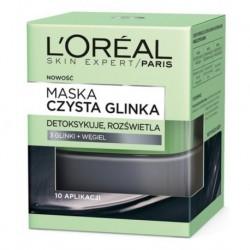 L`Oreal Skin Expert Maska detoksykująco-rozświetlająca czysta glinka 50ml