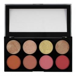 Makeup Revolution Blush Palette Paleta 8 róży Goddes 13g
