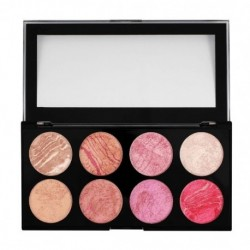 Makeup Revolution Blush Palette Paleta 8 róży Queen 13g