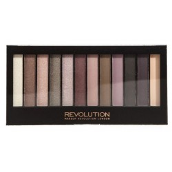 Makeup Revolution London I Love Makeup Paleta 12 cieni Romantic Smoked 14g