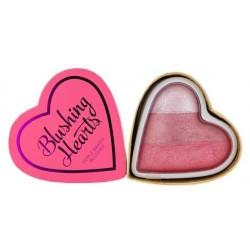 Makeup Revolution Triple Baked Blusher Blushing Hearts Róż do policzków Bursting With Love 10g