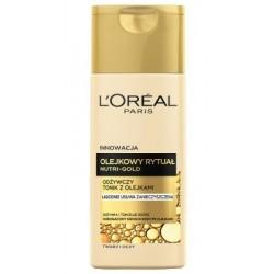 L`Oreal Nutri Gold Olejkowy Rytuał Odżywczy tonik z olejkami 200ml