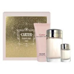 Cartier Baiser Vole Woda perfumowana 100ml spray + 6ml + Balsam do ciała 100ml