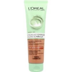 L`Oreal Skin Expert Żel peelingujący do mycia twarzy czysta glinka 150ml