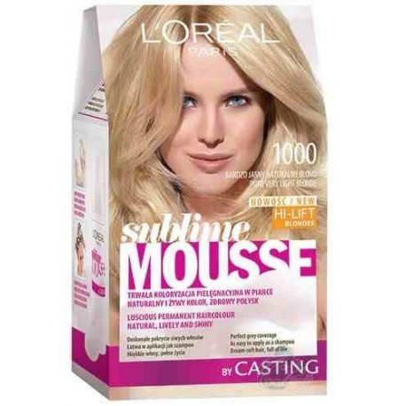 loreal sublime mousse