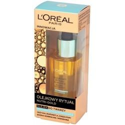 L`Oreal Nutri Gold Olejkowy Rytuał Olejek do twarzy do skóry normalnej i mieszanej 30ml