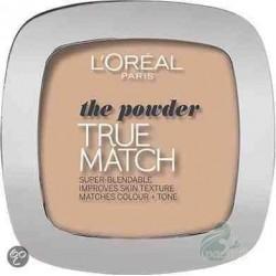 L`Oreal True Match Powder Puder W5 Golden Sand
