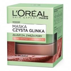L`Oreal Skin Expert Maska wygładzająco-złuszczająca czysta glinka 50ml
