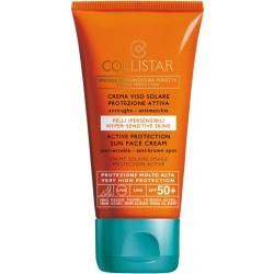 Collistar Active Protection Sun Face Cream SPF 50+ Krem do opalania twarzy i ciała 50ml