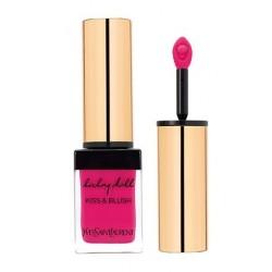 Yves Saint Laurent Baby Doll Kiss & Blush Soft Matte Colour Pomadka i róż do policzków 1 Fuchsia Desinvolte 10ml