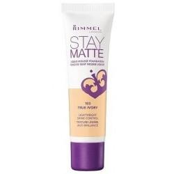 Rimmel Stay Matte Podkład matujący 103 True Ivory 30ml