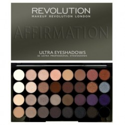 Makeup Revolution Ultra Eyeshadows Affirmation Paleta 32 cieni 16g