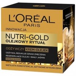 L`Oreal Nutri Gold Olejkowy Rytuał Krem-olejek odżywczy do skóry suchej 50ml