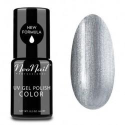 NeoNail Lakier hybrydowy UV 3623 Metalic Silver 6ml