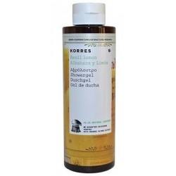 Korres Basil Lemon Showergel Żel pod prysznic o zapachu bazylii i cytryny 250ml