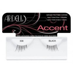 Ardell Accent 308 1 Para sztucznych rzęs Black