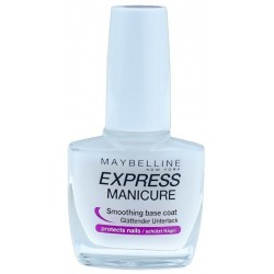 Maybelline Express Manicure Instant Smoothing Base Coat Baza ochronna do paznokci 10ml