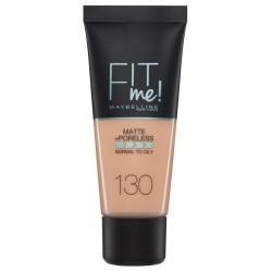Maybelline Fit Me Liquid Foundation Matujący podkład do twarzy 130 Buff Beige 30ml