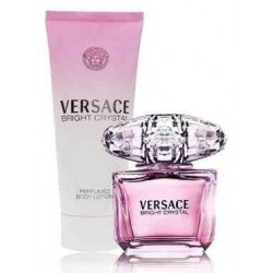 Versace Bright Crystal Woda toaletowa 50ml spray + Balsam do ciała 100ml