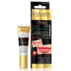 Eveline Sos Lip Booster With Argan Oil 5in1 Serum powiększające usta 12ml