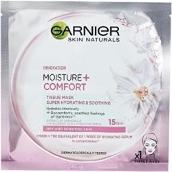 Garnier Skin Naturals Moisture+ Comfort Nawilżająco - Kojąca maseczka do twarzy 32g