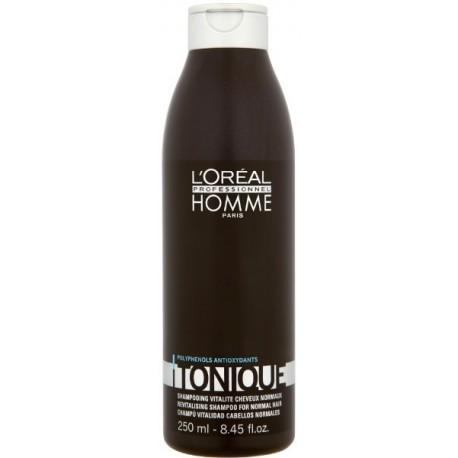 L`Oreal Homme Tonique Revitalising Shampoo Szampon pielęgnacyjny nadający połysk 250ml