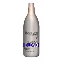 Stapiz Sleek Line Blond Shampoo Szampon do włosów blond zapewniający platynowy odcień 1000ml