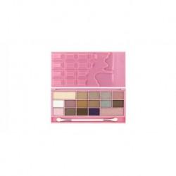 Makeup Revolution Chocolate Pink Fizz Paleta 16 cieni 22g